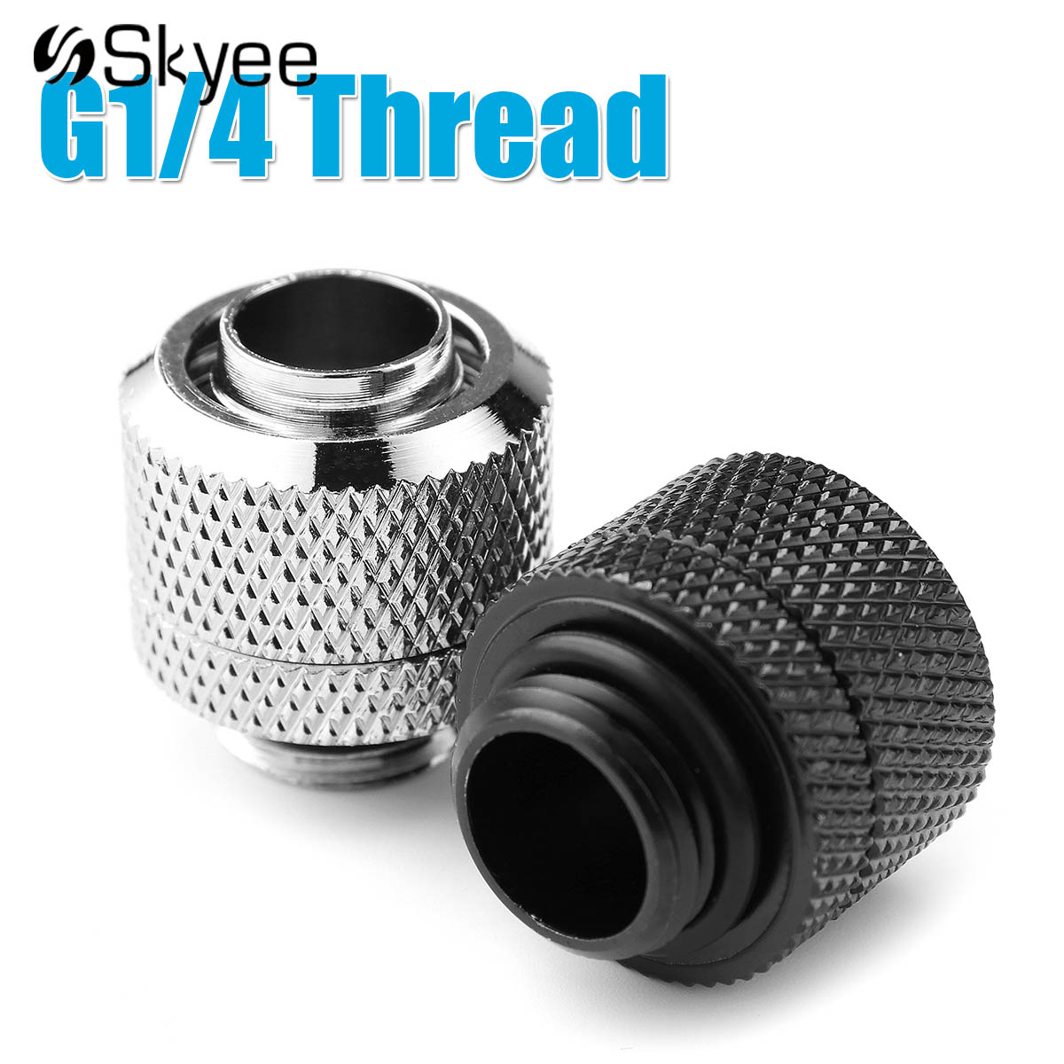 G1 4 Water Cooling Fittings External Thread Connector For