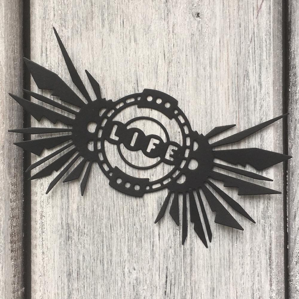 ArtScrap Frame LIFE Metal Cutting Dies Stencils For DIY Scrapbooking Card Decorative Craft Embossing Die Cuts | Art: 152