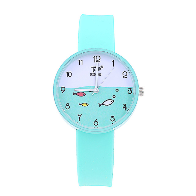 Hot Candy Jelly Color Student Watch Kids Watches Top Children Watches Quartz Sil