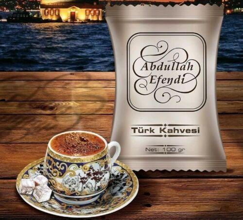 Turkish Coffee By Kurukahveci Abdullah Efendi, Best Roasted Ground Coffee 100G