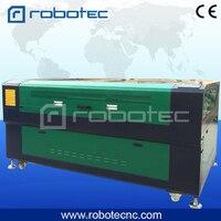 Robotec 60w 80w 100w laser cutting machine leather fabric clothes laser cutting machine 1610