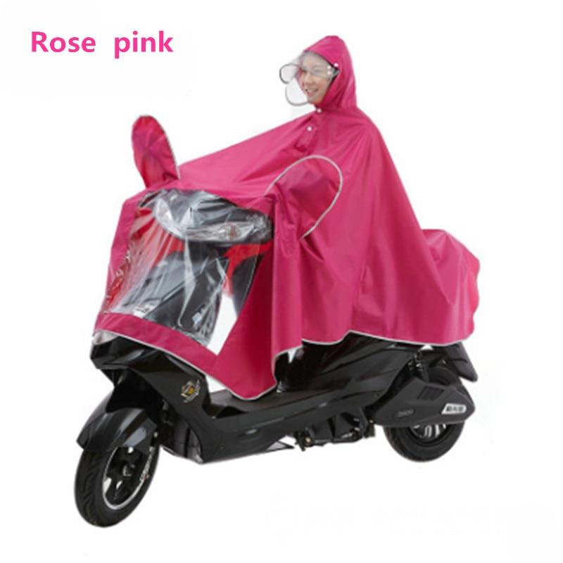 Extra Large Lengthen Windproof Waterproof Motorcycle Scooter Rain Hoodie Coat Women Men Big Raincoat Cover Cape Poncho