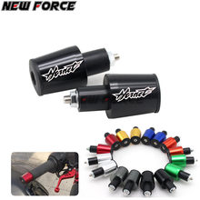 CNC 22 MM Tampa Guiador Grips Handle Bar End Plugs Para Honda CB-1 CB400 CB500 CBF600 CB600 Hornet 600 900 CB750 CB900 CB1300 CBR(China)