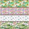 Başka Yeşil Tropikal Yaprak Çiçek Çiçek Masa Örtüsü Koşucu Ev Dekorasyonu Mutfak Yemek Odası için Düğün Doğum Günü 40X140 CM