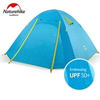 NatureHike Сверхлегкий Палатка Открытый 2 человек Алюминий полюс Высокое качество палатки вечерние События игры Водонепроницаемый