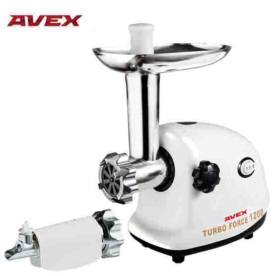 Meat Grinder AVEX MG-151 T with a juicer for a tomato beurer mg 151