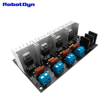 AC Light Dimmer Module, 4 Channel, 3.3V/5V logic, AC 50/60hz, 220V/110V