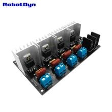 AC Ánh Sáng Mờ Mô Đun, 4 Kênh, 3.3 V/5 V Logic, AC 50/60Hz, 220 V/110 V