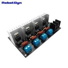 Módulo dimmer de luz ac, 4 canais, lógica de 3.3v/5v, ac 50/60hz, 220v/110v