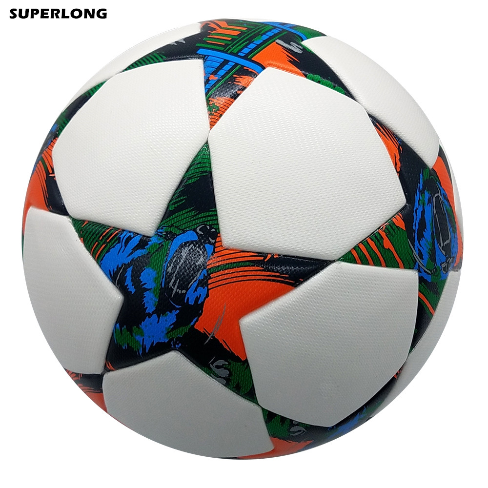 2014 2015 Season Berlin Champion League size 5 Football ball Seamless PU Soccer Ball Professional competition