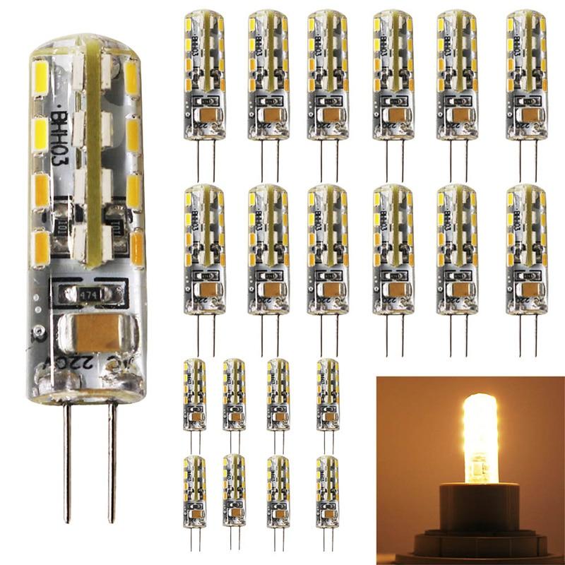 20x Lampada LED G4 Lamp 220V 2.5W AC220V G4 LED bulb 32 SMD 3014 Replace 25w Halogen Light 360 Beam Angle,Warm White