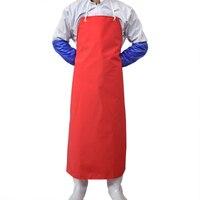 Men Women Anti Oil Apron Butcher Cooking Apron Waterproof PVC Apron Chef Workwear Bib Household Cleaning