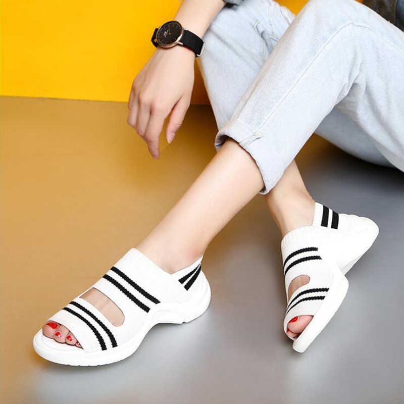hot sale thick heel sandals summer comfortable Openwork shoes fashion pumps shoes fish mouthcasual shoes three colors sh109
