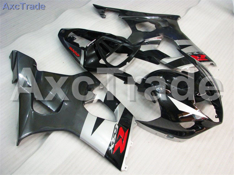 Motorcycle Fairings For Suzuki GSXR GSX-R 1000 GSXR1000 K3 2003 2004 03 04 ABS Plastic Injection Fairing Bodywork Kit Black A284 hot sales sv650 03 04 05 06 07 08 09 10 11 12 13 fairings for suzuki sv650 2003 2013 sv650s black abs motorcycle fairing set
