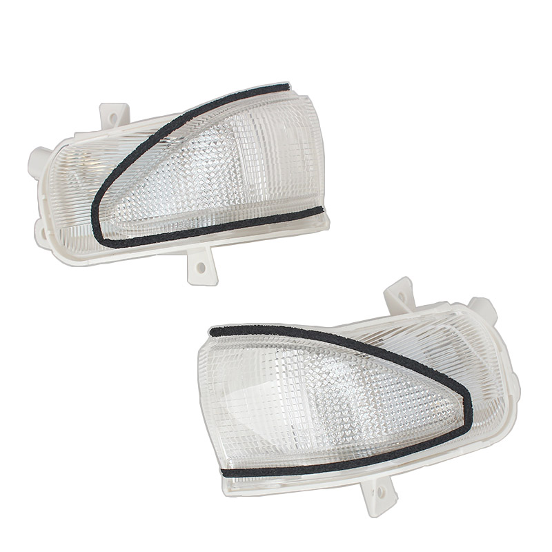 MZORANGE Rearview Side Mirror Lamp Turn Signal Indicator Led Lights Clearance Lights For HONDA FIT JAZZ 2008 -2013