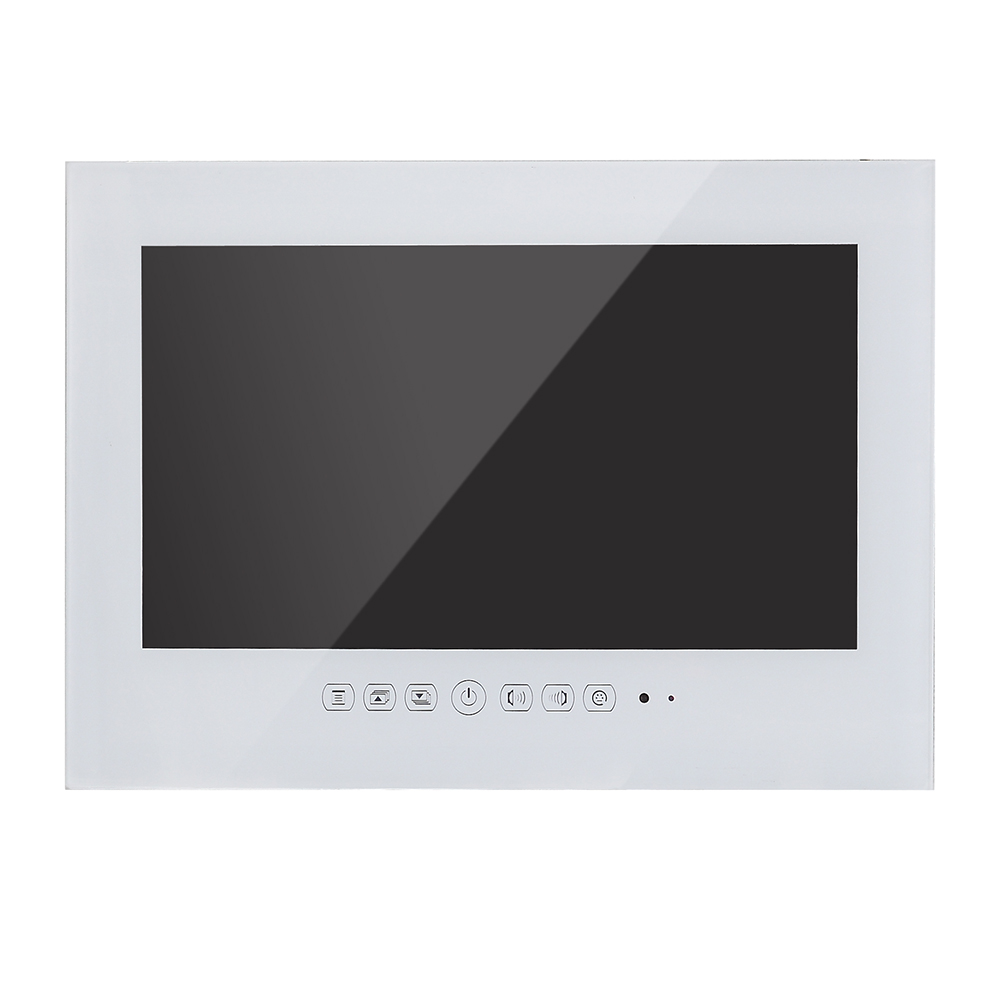 Souria 32 inch Android 7.1 Smart Internet WiFi 1080P White Bathroom TV Shower Room IP66 Waterproof Internet LED TV