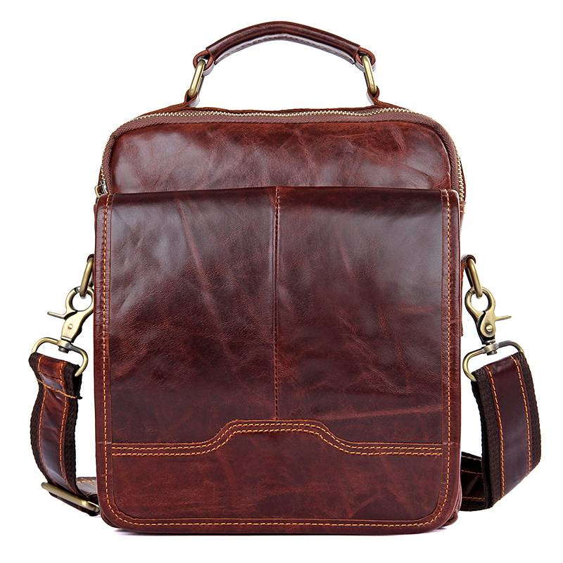 Messenger Bag Men 2018Travel Brown Business Ipad Mobile Vintage Fashion Brown Cow Leather Shoulder Crossbody Small Handbag BagsMessenger Bag Men 2018Travel Brown Business Ipad Mobile Vintage Fashion Brown Cow Leather Shoulder Crossbody Small Handbag Bags