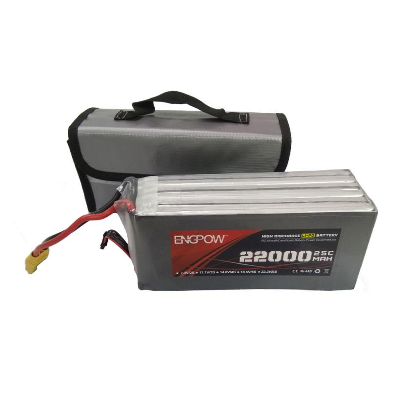 LiPo Li-Po Battery Fireproof Safety Guard Safe Bag 220*100*75MM IUNEED TOY Store