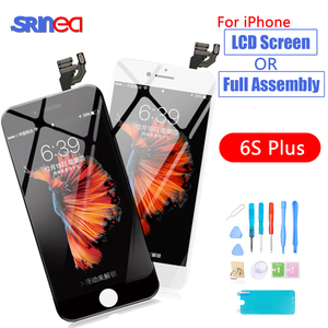 Image 1 - Pantalla LCD Original AAAA para pantalla LCD iPhone 6S Plus y montaje digitalizador 6 S Plus 6SP A1634 A1687 A1699 pantalla LCD contacto