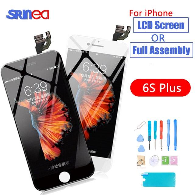 Pantalla LCD Original AAAA para pantalla LCD iPhone 6S Plus y montaje digitalizador 6 S Plus 6SP A1634 A1687 A1699 pantalla LCD contacto