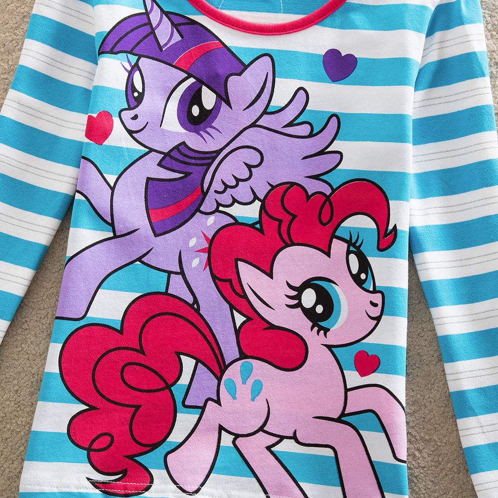 NEAT Dziewczynka długie rękawy koszula moda słodki kolor cute - Ubrania dziecięce - Zdjęcie 3