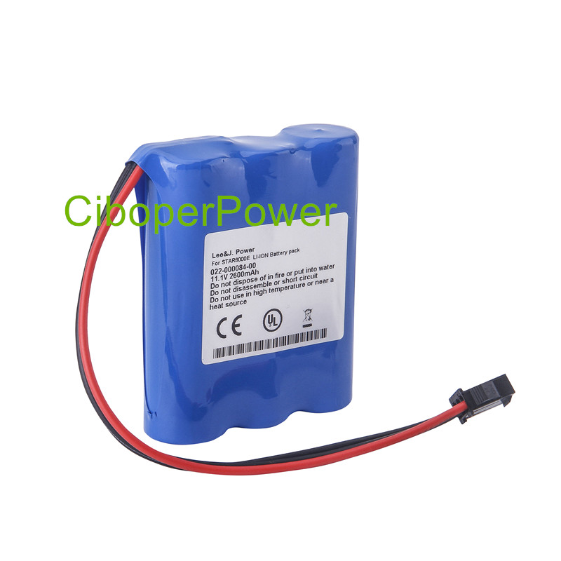 High Quality battery Replacement For ECG Machines 2600mAh Vital Signs Monitor battery for STAR 8000E STAR8000EHigh Quality battery Replacement For ECG Machines 2600mAh Vital Signs Monitor battery for STAR 8000E STAR8000E