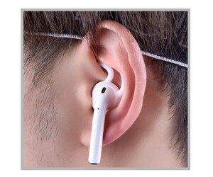 Image 5 - 3000x 소프트 실리콘 헤드폰 이어폰 후크 애플 airpods 및 earpods 커버 아이폰 이어폰 케이스 귀 이어 버드 후크 화이트