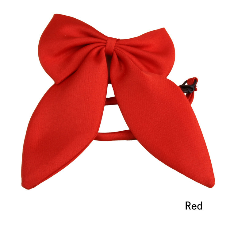 Nette Kühle Mode Frauen Mädchen Nette Partei Einstellbare Bogen Krawatte Rot Schwarz 4 Farben Niedriger Preis