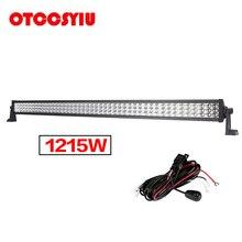 Super Bright Work Light bar 42 INCH LED Car Lamp 1215W 121500LM Combo Beam Front Lights Offroad Barra Led Driving 12V