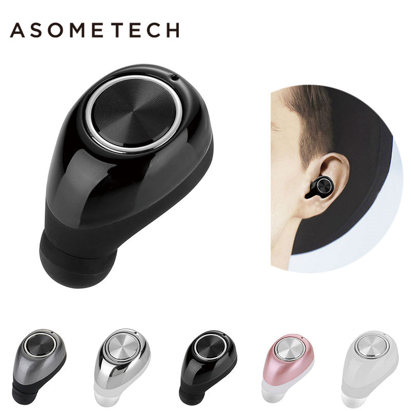 New On-Board Earpieces Mini Bluetooth Headset For Xiaomi Xiomi MI iPhone In Ear Earbuds Wireless Earphone Stereo With Microphon original xiaomi hybrid earphone 1more mi headphones headset 2 unit in ear circle iron mixed piston 4 for iphone samsung lg htc