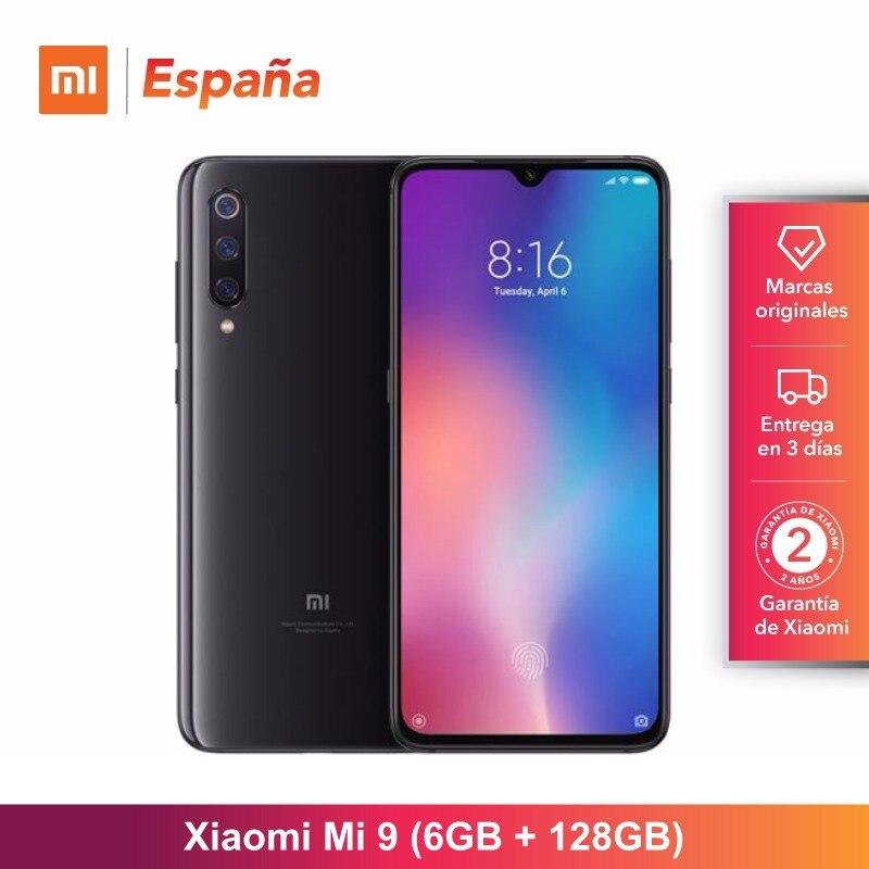 [Versão Global para a Espanha] Xiao mi mi 9 (Memoria interna de 128 GB, RAM de 6 GB, bateria de 3300 mAh) Móvil