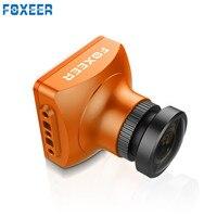 Original FOXEER Seta V3 2.5mm 600TVL HAD II CCD PAL/NTSC IR bloco Mini Câmera FPV OSD Embutido MICROFONE VS RUNCAM Swift Águia 2