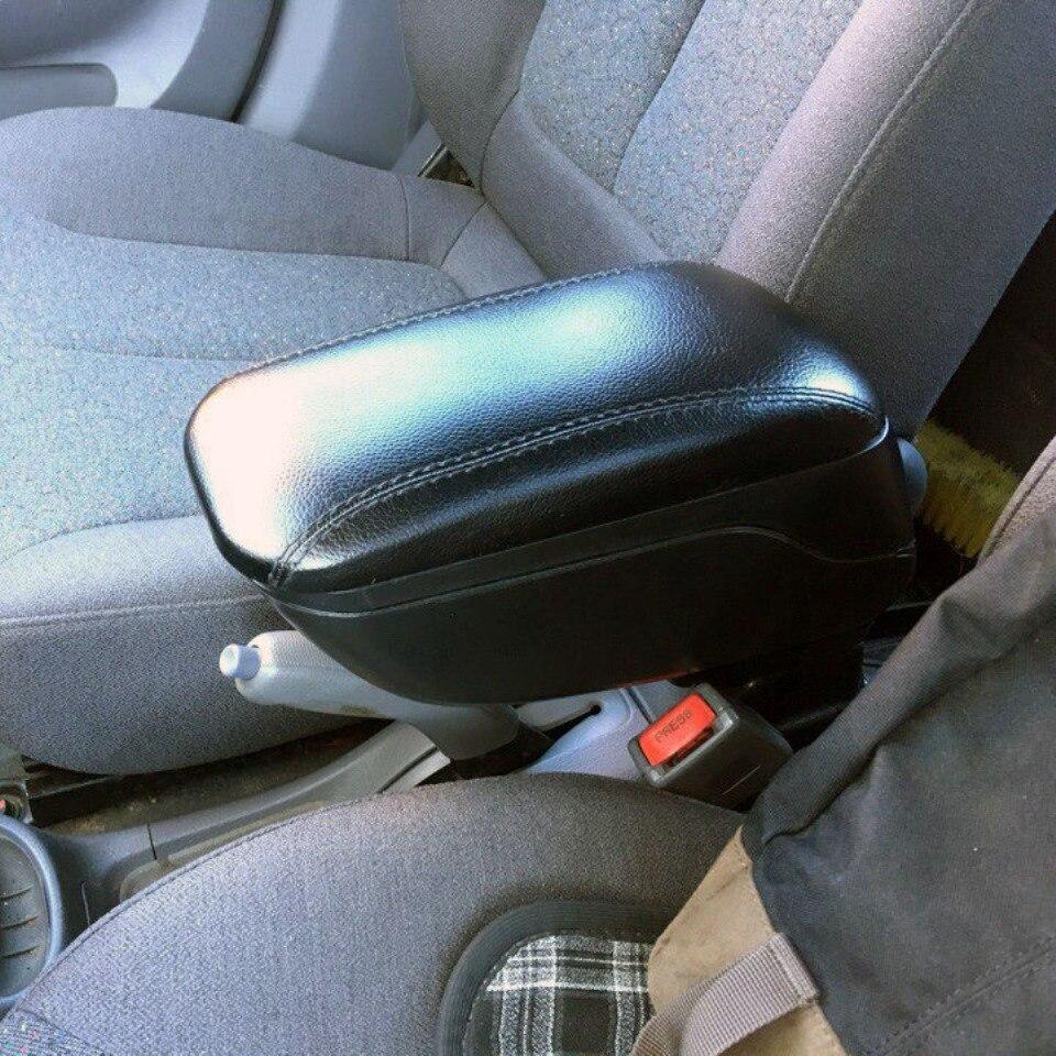 Per Hyundai Accent Tagaz auto bracciolo con interno guantoni da boxe nero colore PHAC9