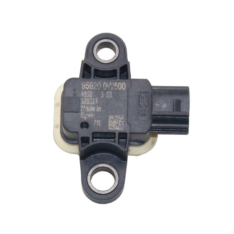 Capteur de Collision d'impact d'origine OEM 95920-0W500 pour Hyundai Santa Fe 2009-2012