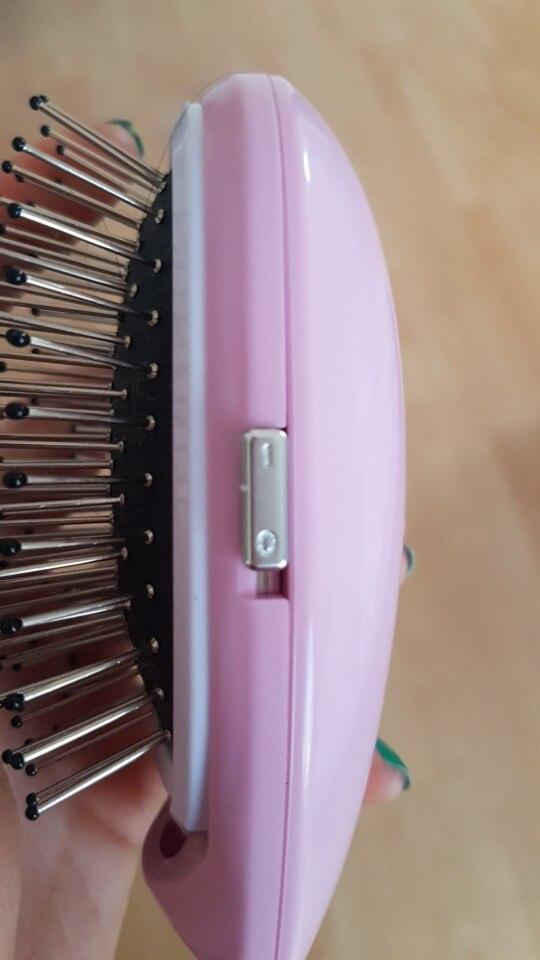 Ionic-Magic™ Hair Brush photo review