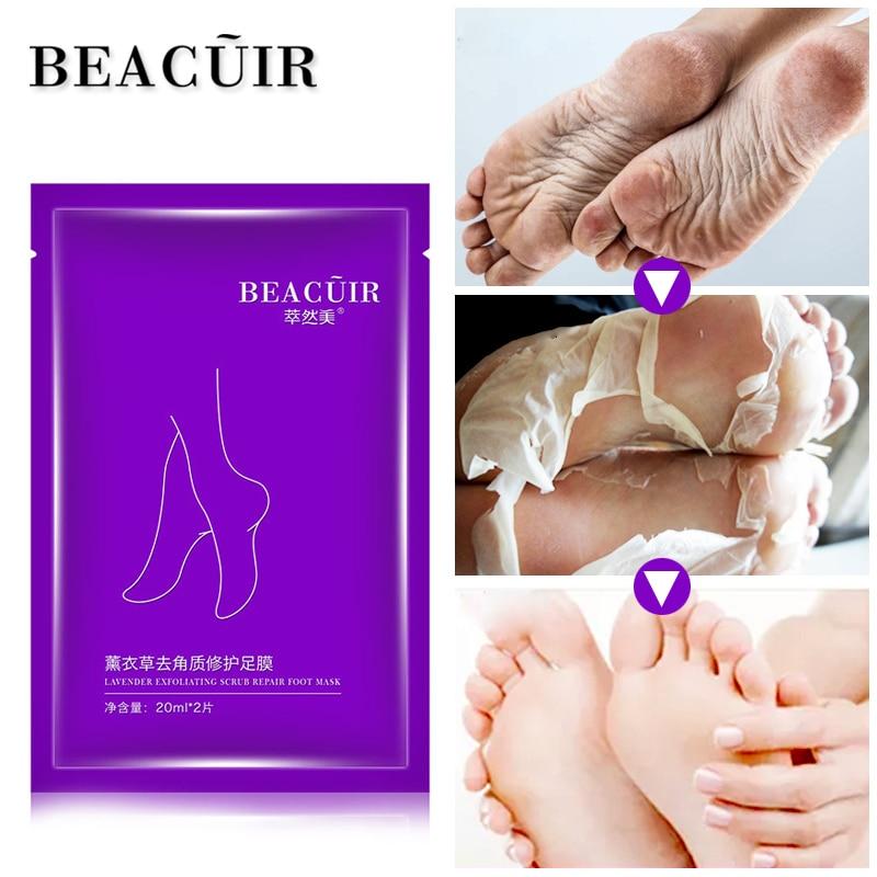 Hautpflege 2 Pc = 1 Pack Baby Fuß Maske Peeling Maske Peeling Maske Für Füße Maske Entfernen Abgestorbene Haut Nagelhaut Ferse Fuß Pflege Socken Für Pediküre Einfach Zu Reparieren Schönheit & Gesundheit