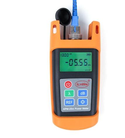 2 PCS Lot FTTH Fiber Optical Handheld Test Tool Fiber Optic Power Meter KPM 25M OPM