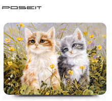 Oil painting series Painting Case For Apple Macbook Air 11 model:A1465 And A1370 Colors Laptop Cover Shell