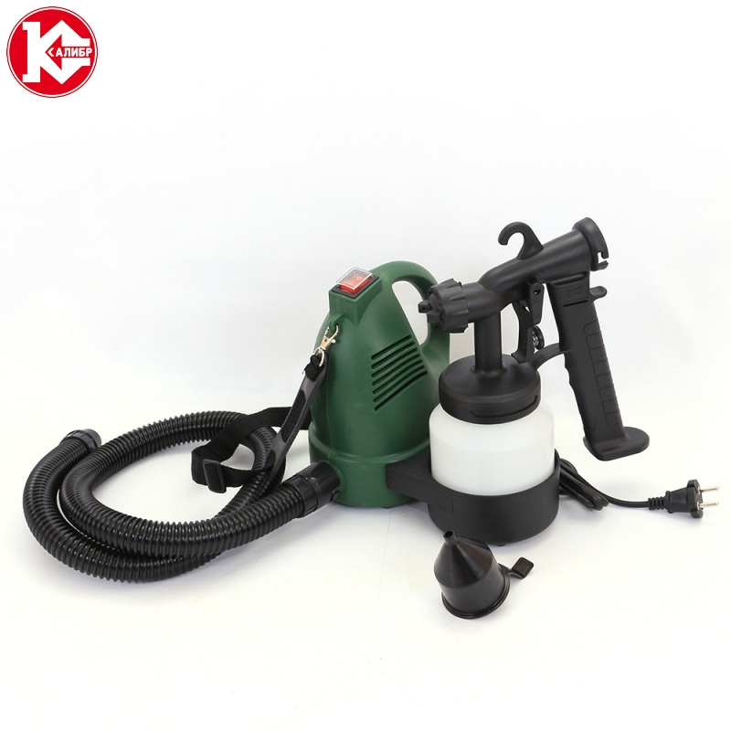 цена на Kalibr EKRP-600/0.8 Electric Paint Sprayer Household Painting Spray Gun Kit Power Tools