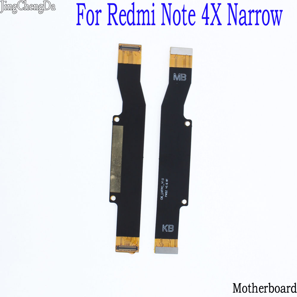 JCD 1PCS Main Board <font><b>Motherboard</b></font> Flex Cable Replacement Parts for <font><b>Xiaomi</b></font> <font><b>Redmi</b></font> <font><b>Note</b></font> <font><b>4X</b></font> image