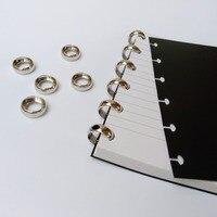 Yiwi Nieuwe Komen 18mm Buitendiameter Metalen Schijf Binden Ring Voor Gelukkig Planner Notebook Disc-Gebonden Planner