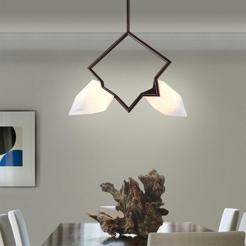 Modern Northern Europe Art Metal Individuality Pendant Lamp Cafe Restaurant Bedroom Livingroom Decoration Lamp Free Shipping