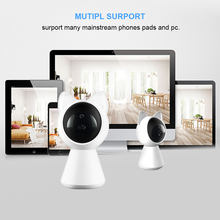 ET A280 Cat IP WiFi Camera HD 360 degree Wireless Baby Monitor Pan Tilt Infrared Security Door Camera Night Vision Mini Robot(China)