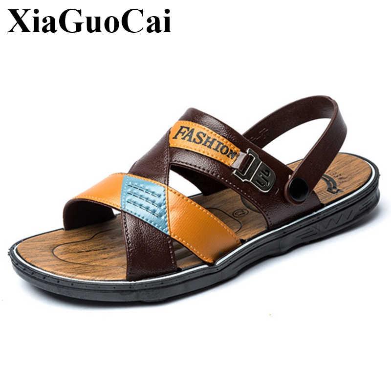 New Sandals Men Summer Shoes Flat