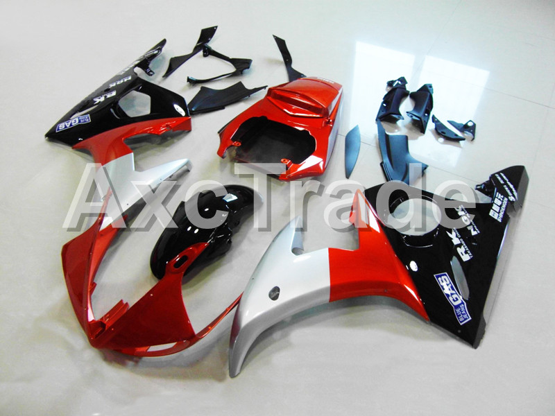 Motorcycle Fairings For Yamaha YZF600 YZF 600 R6 YZF-R6 2003 2004 2005 03 04 05 ABS Injection Molding Fairing Bodywork Kit B411 motorcycle fairings kits for yamaha yzf600 yzf 600 r6 yzf r6 2008 2014 08 14 abs injection fairing bodywork kit red black a40