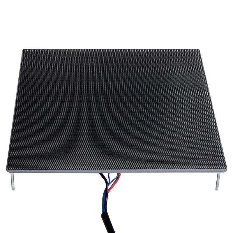 3D Printer Heatbed Platform Hot Bed Build Surface Glass Plate 220x220x4MM Compatible For 3D Printer MK2 MK3 Reprap Sticker 3d printer 3mm square pcb heat bed mk3 reprap hot plate dual voltage 12 24v