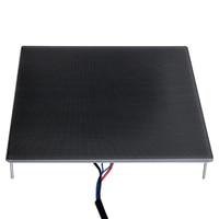 3D Printer Heatbed Platform Hot Bed Build Surface Glass Plate 220x220x4MM Compatible For 3D Printer MK2 MK3 Reprap Sticker