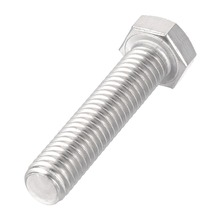 UXCELL 5Pcs 3/8-16x1-3/4 304 Stainless Steel Hex Head Screw Bolts Fastener Home Office Appliance Fasteners Hardware