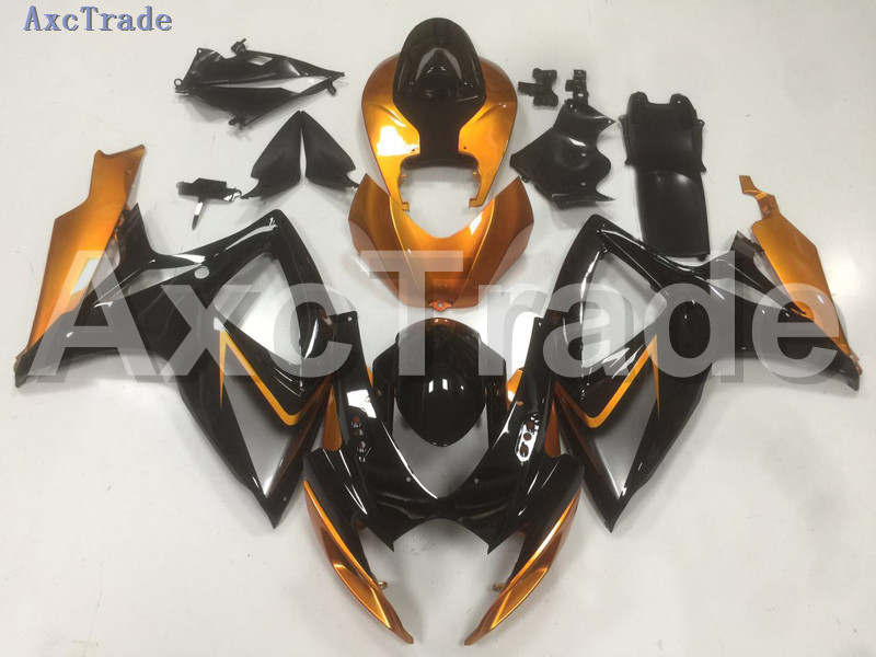 Motorcycle Fairings For Suzuki GSXR GSX-R 600 750 GSXR600 GSXR750 2006 2007 K6 06 07 ABS Plastic Injection Fairing Bodywork B11 new motorcycle ram air intake tube duct for suzuki gsxr600 gsxr750 2006 2007 k6 abs plastic black