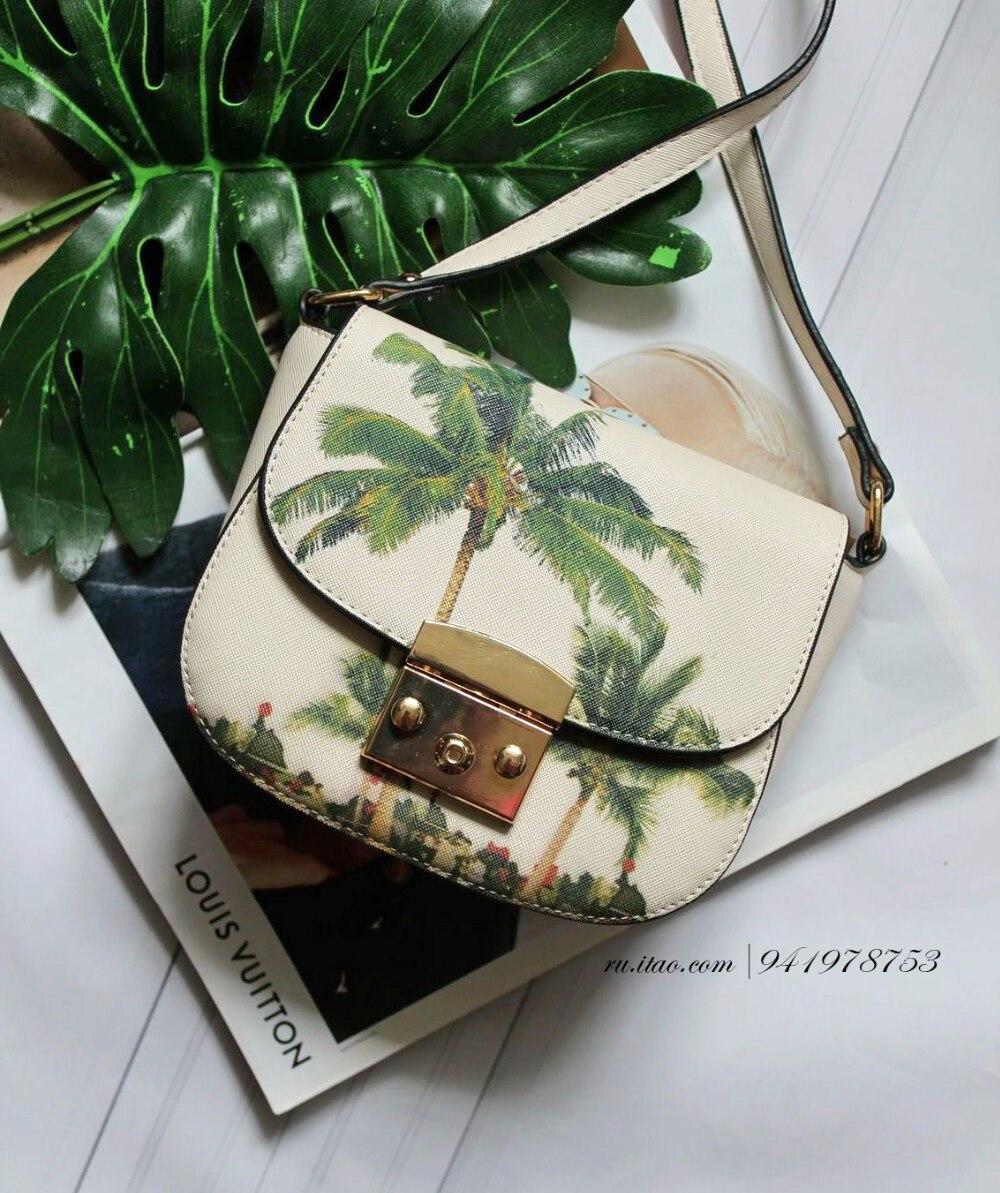 Сумочка с пальмовым принтом с Алиэкспресс